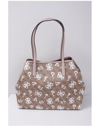Guess Vikky Large Tote Colour: Brown
