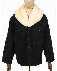 Filson Wool Packer Coat - Black
