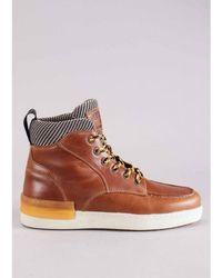 Replay Footwear Louisburg Sneaker Colour: Tan - Brown