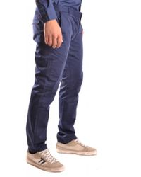 b760ac54236 Christopher Shannon Check Chinos in Gray for Men - Lyst