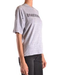 DSquared² - T-shirt In Grey - Lyst