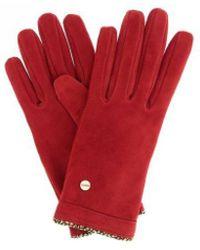 Borbonese Glove Short - Red