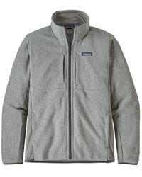Patagonia Lightweight Better Jumper Full Zip Jacket Feather Grey