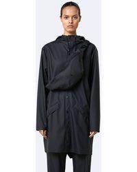 Rains Black Bum Bag