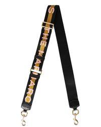 Marc Jacobs Webbing Shoulder Strap - Black