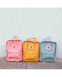 Fjallraven Fjallraven Classic Kanken Pink Air Blue Backpack