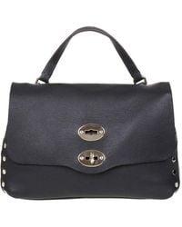 Zanellato Postina S Heritage In Leather - Black
