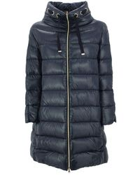 Herno Puffer Coat - Blue