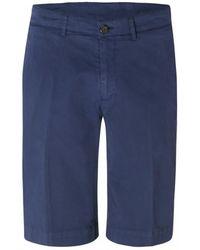 Canali Chino Shorts (blue)
