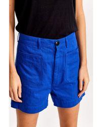 Bellerose Lolo Klein Shorts - Blue