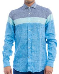 Harmont & Blaine Shirts - Blue