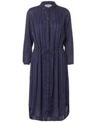 Munthe - Tabor Shirt Dress In Indigo - Lyst