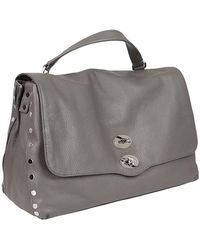 Zanellato - Sara Battaglia Clutch Bag In Grey - Lyst