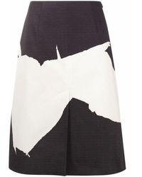 Maison Margiela Women's S29ma0480s53073002s Black Cotton Skirt