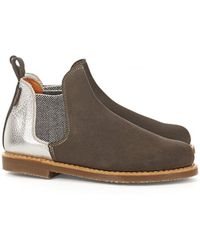 Penelope Chilvers - Metallic Patch Boot - Lyst