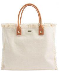 Melissa Odabash Cap Ferrat Bag - White