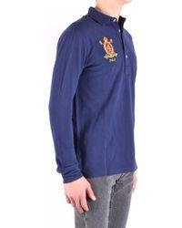 c395450c4c0b1 Lyst - Ralph Lauren Polo Wimbledon Flag-collar Polo Shirt - Slim Fit ...