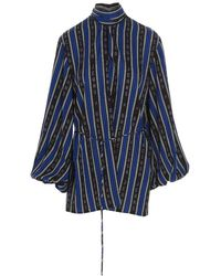 Balenciaga - Women's 659088tkl321165 Multicolor Other Materials Blouse - Lyst