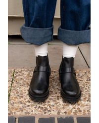 H by Hudson Hudson Moss Black Boots