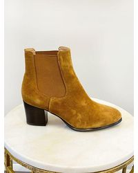 Unisa Maze Chelsea Boots Tan - Brown