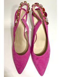 Kennel & Schmenger Miley Fuchsia Sling Back 91-83930-387 - Pink
