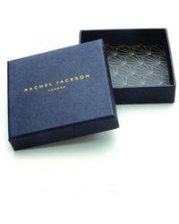 Rachel Jackson - Classic Hexagon Bracelet Silver - Lyst