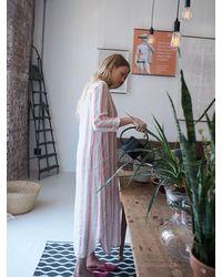 Nrby Chrissie Stripe Maxi Dress - Pink
