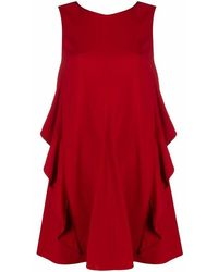 RED Valentino - Bow-detail Cocktail Dress - Lyst