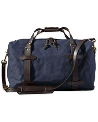 Filson Medium rugged Twill Duffle Bag - Navy - Blue