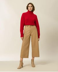 IVY & OAK Kamela Pullover - Red