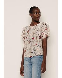 Lily and Lionel Lily & Lionel Savannah Silk Top - White
