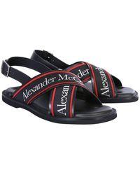 McQ Sandals In Black