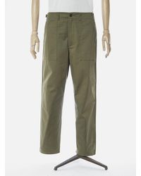 Universal Works Fatigue Pant - Light Olive - Green