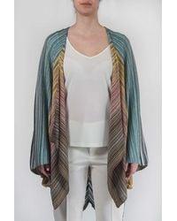 Missoni Striped Poncho - Multicolor