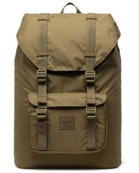 Herschel Supply Co. Little America Backpack Volum Light Mid - Khaki Green