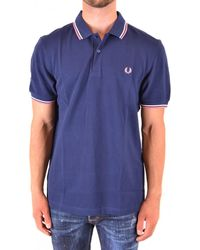 Fred Perry Polos - Blue