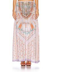 Camilla - Long Skirt - Lyst