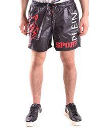 Philipp Plein Swimshorts In Black