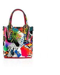 Christian Louboutin 1215099 M024 Multicolour Patent Cabata Mini Bag