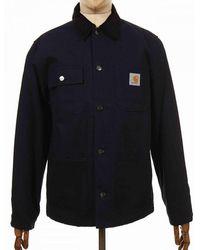 Carhartt Wip Michigan Organic Coat - Dark Navy - Blue