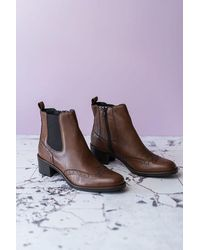 Cara Harrogate Boot - Brown