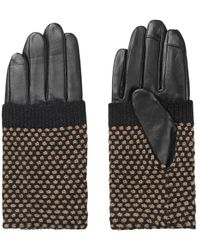 Becksöndergaard Beck Sondergaard Riga Beige Gloves - Black