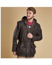 Barbour - Classic Durham Wax Jacket - Lyst
