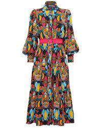 Paolita Ismini Farrow Dress - Blue