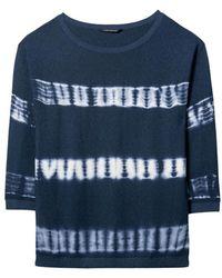 Luisa Cerano Navy Tie-dye Sweater 138881/5866 - Blue