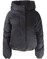 J Brand Bora Puffer Jacket - Black