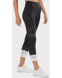 Lilybod Jade-x High-waist 7/8 Length leggings - Tarmac Black