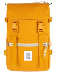 Topo Rover Pack Backpack Yellow Canvas