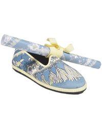 Emilio Pucci Flat Shoes Avion - Blue