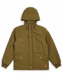 Brixton Spokane Military Jacket - Olive - Green